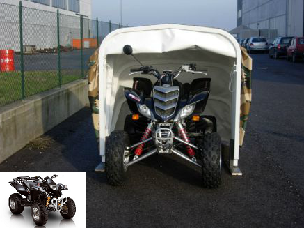 Bache protection garage de quad escagot for Bache voiture exterieur